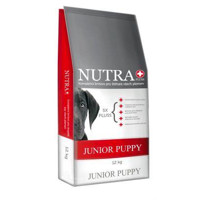 Prémiové granule pro štěňata Junior Puppy 12kg Nutra Pluss