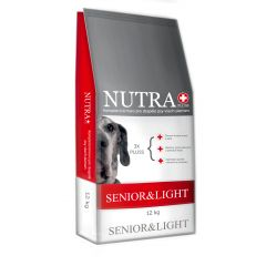 Prémiové granule pro psy Senior 12kg Nutra Pluss