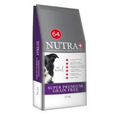 Bezobilné granule pro psy Super Premium 12kg Nutra Pluss