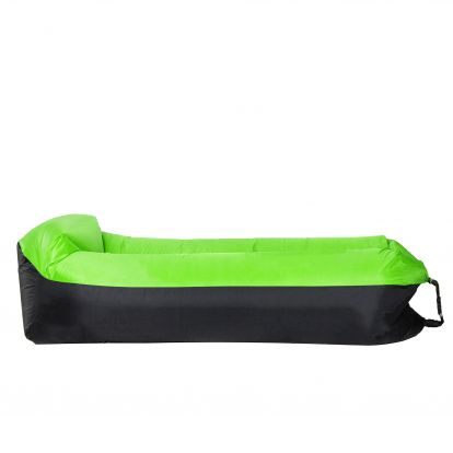 Vzduchový pytel LAZY BAG DUO černo-zelený