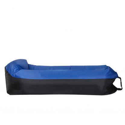 Vzduchový pytel LAZY BAG DUO černo-tmavě modrý