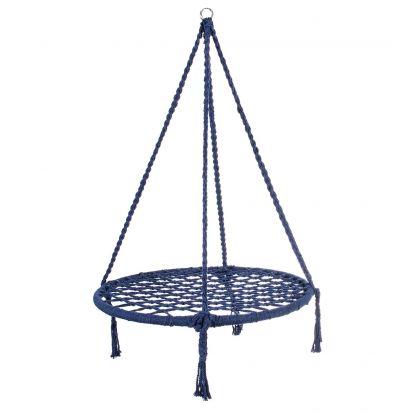 Závěsná houpačka SPRINGOS NICOLA 80 cm modrá