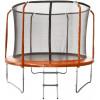 Trampolína SEDCO LUX SET 244 cm s ochrannou sítí + žebřík oranžová