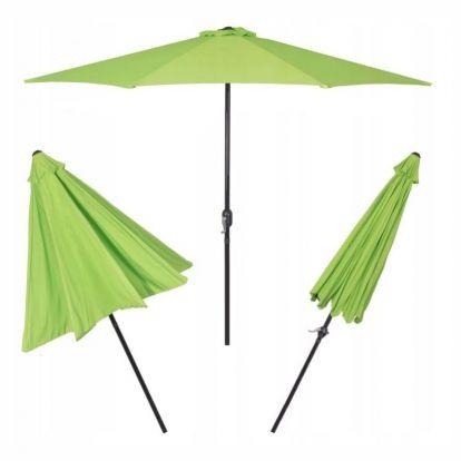 Zahradní slunečník SPRINGOS CLASSIC 300 cm zelený