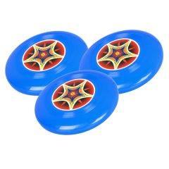 Frisbee létající talíř SPARTAN SOFT 15 cm - sada 3 kusy