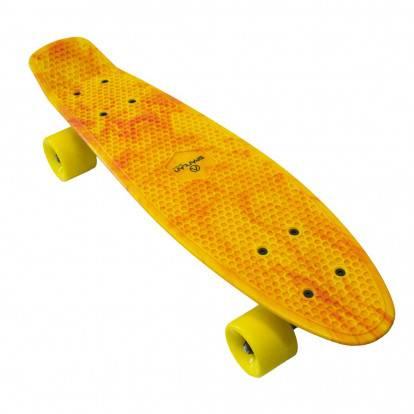 """Pennyboard SPARTAN PLASTIC BOARD 22,5"""" žlutý"""