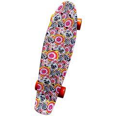 """Pennyboard SPARTAN PLASTIC BOARD 22,5"""" Flower"""