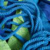 Spokey IPANEMA Houpací síť do 120 kg, modro-zelená
