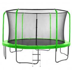 Trampolína SEDCO SUPER LUX SET 458 cm s ochrannou sítí + žebřík zelená