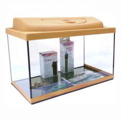 Akvárium set STARTUP 50 SELECTO LEDX 1x10W DIVERSA rovný, buk
