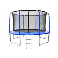 Trampolína SEDCO SUPER LUX SET 366 cm s ochrannou sítí + žebřík modrá