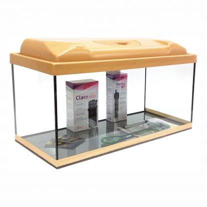 Akvárium set STARTUP 60 SELECTO LEDX 1x13W DIVERSA rovný, buk