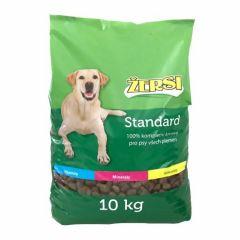 Granule pro psy Žersi Standard 10kg Nutra Pluss - poškozený obal