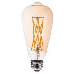 LED žárovka E27 Filament Retro, 12W, 1020lm, teplá bílá, 2700K LUMIDO