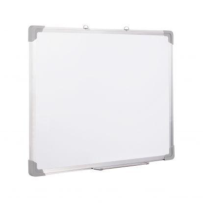 Magnetická tabule 90x60 cm popisovatelná, bílá SPRINGOS