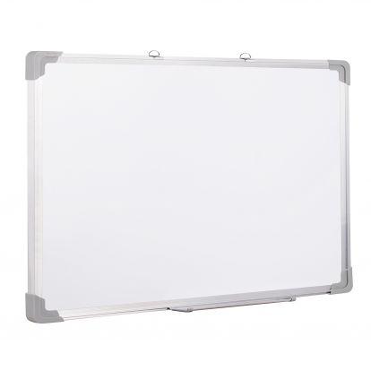 Magnetická tabule 120x90 cm popisovatelná, bílá SPRINGOS