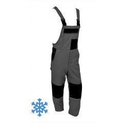 Zimní montérky s laclem MAXIM 500RW šedo-černé