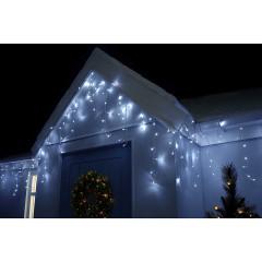 LED krápníky Profi - 23,5m, 500LED, 8-funkcí, IP44, studená bílá