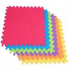 Pěnová podložka Puzzle 60x60x1 cm sada 6ks SPRINGOS PM0002 multicolor