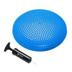 Balanční a masážní podložka + pumpička SPRINGOS MEDICAL tmavě modrá