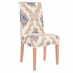Potah na židli elastický SPANDEX BAROKO béžový