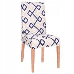 Potah na židli elastický SPANDEX ABSTRACT barevný