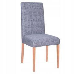 Potah na židli elastický SPANDEX modré káro