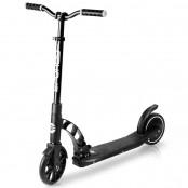 Spokey MOBIUS Elektrická koloběžka černá, kolečka 8', do 100 kg, nožní ovládání