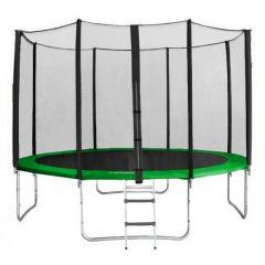 Trampolína SEDCO 366 cm + síť a žebřík v ceně - zelená