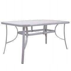 Zahradní stůl SPRINGOS BERGAMO II 150x90 cm šedý