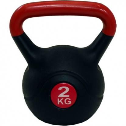 Kettlebell SPARTAN PLAST 2 kg
