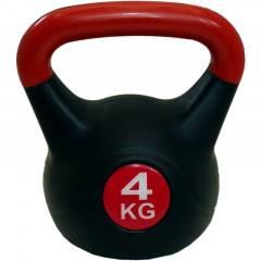 Kettlebell SPARTAN PLAST 4 kg