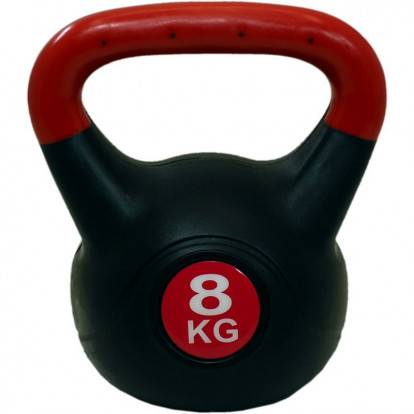 Kettlebell SPARTAN PLAST 8 kg