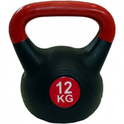 Kettlebell SPARTAN PLAST 12 kg