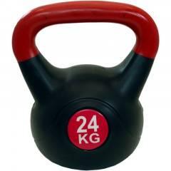 Kettlebell 24 kg plast SPARTAN