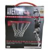 """Koš na basket + síť, obruč ocel 16 mm, odpruženývelikost: oficiální 7"""" =45 cm"""