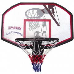 Basketbalový koš s deskou SAN FRANCISCO SPARTAN