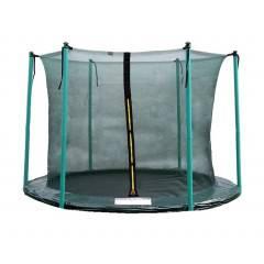 Vnitřní ochranná síť SPRINGOS na trampolínu 244 cm (8 ft) / 6 tyčí zelená