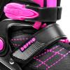 Spokey DOPPIO 2IN1 Brusle černo-růžové, regulovatelné, vel. 30-41