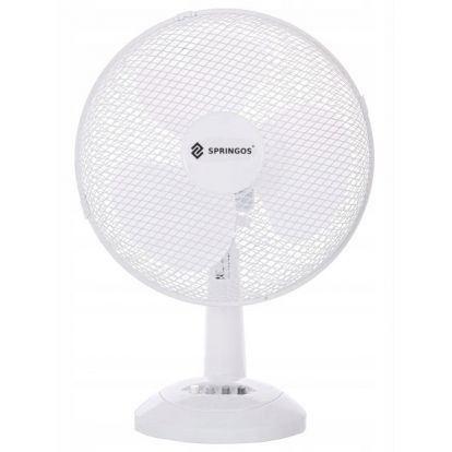 Stolní ventilátor SPRINGOS FT200 bílý