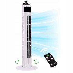 Sloupový ventilátor SPRINGOS TF200W bílý