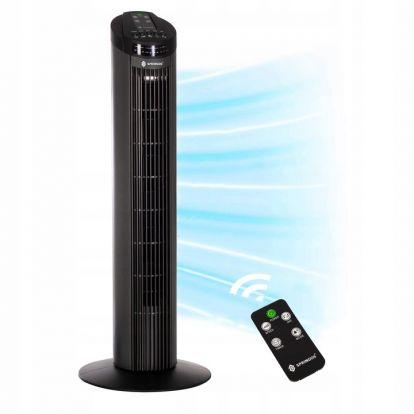 Sloupový ventilátor SPRINGOS TF300B černý