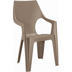 Plastová židle Keter Dante highback Cappuccino