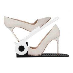 Organizér na boty černo-bílý SPRINGOS