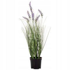 Umělá tráva s levandulí 60 cm