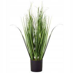 Umělá tráva v květináči 75 cm