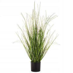 Umělá tráva v květináči 90 cm