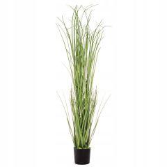 Umělá tráva v květináči 120 cm