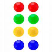 Sada barevných magnetů 20mm 8ks SPRINGOS