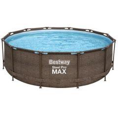 Bazén Bestway Steel Pro Max Rattan 3,66 x 1 m 56709
